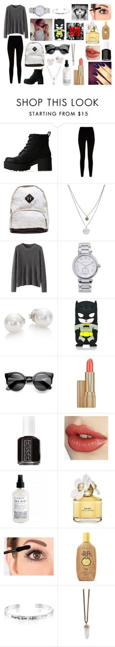 """""""Magcon -5"""" by heathboo109 ❤ liked on Polyvore featuring Lipstik, Givenchy, Kenneth Cole, Michael Kors, Mikimoto, Samsung, Estée Lauder, Essie, Marc Jacobs and Sun Bum"""