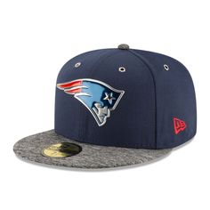 e1cd60cdf7d New England Patriots New Era On Stage 59FIFTY Fitted Hat - Navy