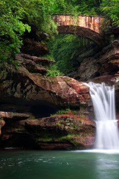 Hocking Hills State Park is a scenic wonderland in SE Ohio.