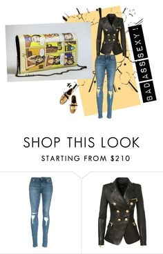 """""""Bad A Sexy"""" by info-pursed on Polyvore featuring Balmain, Marni, women's clothing, women's fashion, women, female, woman, misses and juniors"""