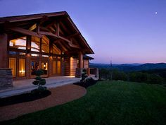 Enjoy the view from this beautiful cabin rental