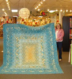 BLOOMING NINE PATCH QUILT..............PC ...........