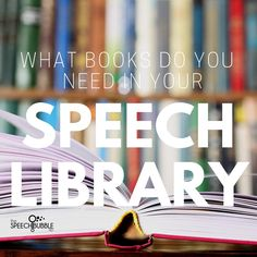 Books are an SLPs Swiss Army Knife. So many possibilities in such a small package! But which ones are essential to have around? These are the best books for speech.