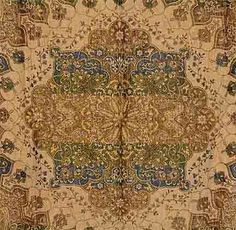 Antique woven Persian shawl with Persian characters