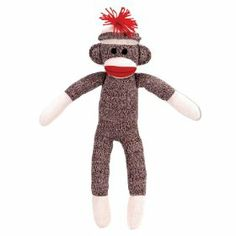 The Original Sock Monkey-My great-grandma used to make these. I wish I still had mine.