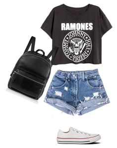 """Untitled #3707"" by linda56draco ❤ liked on Polyvore featuring moda, Converse y Elizabeth and James"