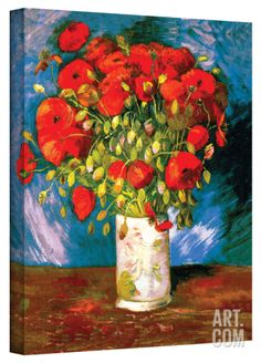 faa23934377 Vincent van Gogh  Poppies  Wrapped Canvas Art Gallery Wrapped Canvas by Vincent  van Gogh