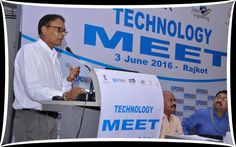 Mr Amrit Jalavadia, Working Committee member, EEPC INDIA at the welcome address