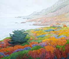 robin purcell , watercolors in the plein air tradition