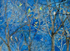 Birds in Trees by Anne Haworth