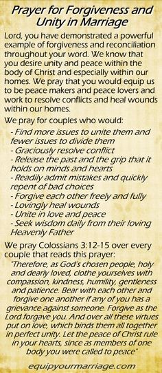 Prayer for your marriage