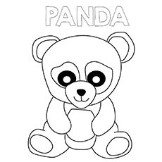 Panda Coloring Pages Panda Coloring Pages Bear Coloring Pages Animal Coloring Pages