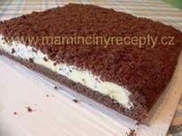 Krtkův dort na plechu Czech Recipes, Ethnic Recipes, Red Velvet Cheesecake, World Recipes, Cake Tutorial, Graham Crackers, Cheesecakes, Nutella, Tiramisu
