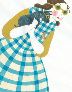 Dorothy & Toto pencil illustration by Elena Odriozola. Art And Illustration, Illustration Design Graphique, Character Illustration, Illustrations Posters, Elena Odriozola, Alice In Wonderland, Design Art, Sculpture, Drawings