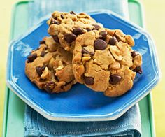 Our Best Chocolate Chip Cookies. We sifted through our archives to find our favorite chocolate chip cookie recipes. Whether you like them chewy or with mint, white chocolate, or peanut butter, one of these 11 delicious treats is sure to please. Best Chocolate Chip Cookies Recipe, Chip Cookie Recipe, Peanut Butter Cookies, Cookie Recipes, Dessert Recipes, Bar Recipes, Chocolate Chips, Baking Recipes, Yummy Recipes
