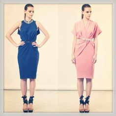 Rhea Costa Vivid colours! SS2014 Summer 2014, Spring Summer, Vivid Colors, Colours, World Of Fashion, Costa, Runway, Dresses For Work, Outfits