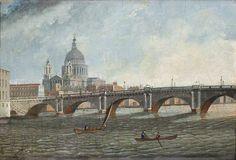 Blackfriars' Bridge - WHERE THAMES SMOOTH WATERS GLIDE
