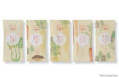 パッケージ : 前崎日記 Beautiful seed packet illustrations PD