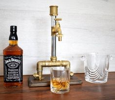 valentines gift for him Anniversary Gift groomsman gift husband Gift gift for dad alcohol dispenser whiskey dispenser Wine dispenser Whiskey Dispenser, Alcohol Dispenser, Valentines Gifts For Him, Gifts For Dad, Whisky Spender, Jack Daniels Birthday, Bourbon Gifts, Vodka, 40th Birthday Gifts