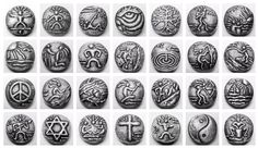 LifeLinks BOLD Jewelry Collection. Twenty-eight BOLD LifeLinks images representing inspirational, spiritual and relational values in sterling silver. Worn as necklaces, bracelets and rings helping individuals live with more intention. Visit LifeLinks Jewelry on Etsy.