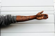 This is Art. Simple. Beautiful. So them. When your tattoo literally mean the world.
