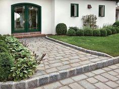 Walkway Inspiration Ideas - Legends Landscape Supply Inc. Landscaping Supplies, Yard Landscaping, Modern Garden Design, Walkways, Legends, Sidewalk, Patio, Landscape, Outdoor Decor