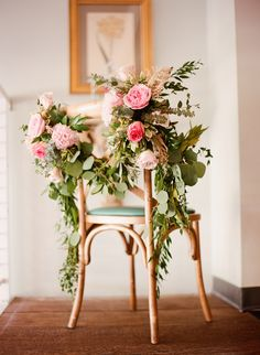 Rose and greenery decor: Photography: Aly Carroll - http://www.alycarroll.com/