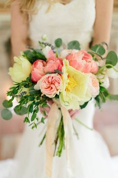 Looking to be inspired? This photo shoot, shot at an old historic manor in Virginia, defines southern romance: soft candle light, airy pastels, garden roses, vintage china. Styled by Floral & Bloom Designs and captured by Abby Grace Photography, this gallery