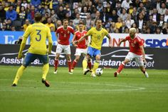 Zlatan Ibrahimovic of Sweden during the international friendly between Sweden and Wales at Friends Arena on June 5, 2016 in Solna, Sweden.