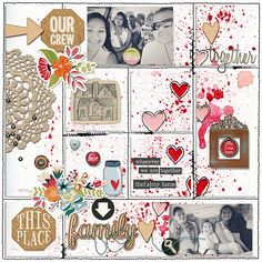 Project Life layout by marnel using Project Grids 7 by Amy Martin #amymartindesigns