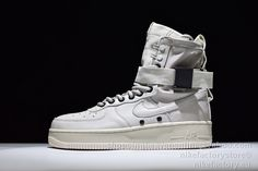 776823243897c NIKE W SF-AF1 High 857872-001 Light Bone Beige