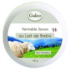 CouleurTropiques,savon Galeo au lait de brebis, 100g de pure douceur