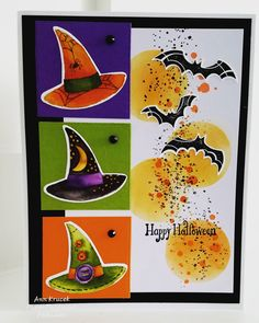 Stampin Up Cauldron Bubble Halloween Card 2018 Holiday Catalog halloween couldron Homemade Halloween, Halloween Cards, Holidays Halloween, Halloween 2018, Cat Cards, Kids Cards, Thanksgiving Cards, Holiday Cards, Artist Trading Cards