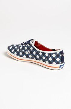Keds® for kate spade new york 'kick' sneaker! Fashionable & comfortable for #gameday! @Auburn Hutson Athletics @Auburn Hutson University #wareagle #auburn #shoes