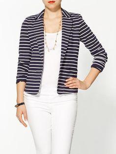 Michael Kors/ Vintage Stripe Blazer