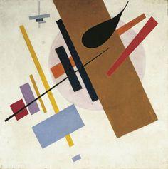 "Kazimir Malevich, ""El supremo Nº 55"" (1916)"