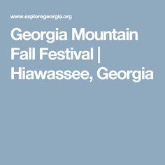 Georgia Mountain Fall Festival | Hiawassee, Georgia