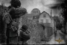 Recreating the Battle of Arnhem for Paratrooper, Original Drama Series - War Historical Photos Spanish Armada, Market Garden, Band Of Brothers, Paratrooper, National Archives, D Day, Drama Series, Military History, Historical Photos