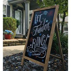 Outdoor Chalkboard, Chalkboard Stand, Chalkboard Easel, Outdoor Signage, Black Chalkboard, Marker Board, Chalk Board, Fresco, Online Art School