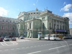 Mariinsky Ballet and Opera Theatre. Home of Kirov in soviet times.