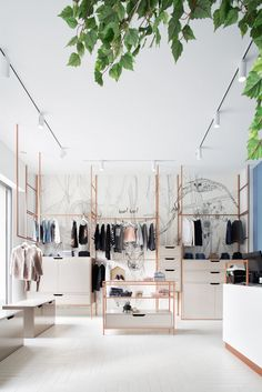 View full picture gallery of L' Albero Dei Desideri Clothing Boutique Interior, Clothing Store Design, Boutique Decor, Boutique Interior Design, Lingerie Store Design, Boutique Ideas, Boutique Stores, Clothing Stores, Fashion Boutique