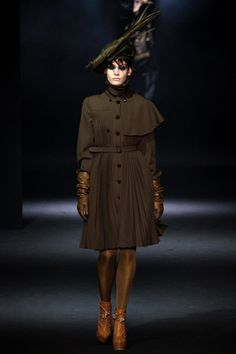 Fall 2012 RTW, Designer: John Galliano, Model: Heidi Mount