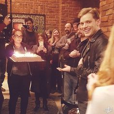 Arrange a birthday party for your #parabatai and get him a giant cake  . ________ Save our show! . #saveshadowhunters . #notourlasthunt .…