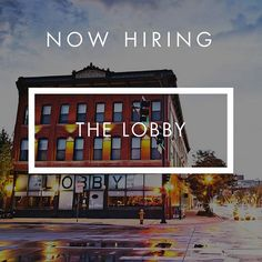 One of the best parts about working in a restaurant is everyone is like your family! Well, The Lobby is hiring for a PT Server and is looking for someone to join THEIR family. Apply here http://sirv.ooo/lobbydnvr (or click link in bio).⠀