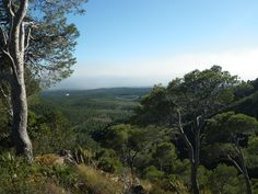 Vista sur de la cumbra