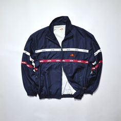 official photos 3df3a 792c1 Vintage ELLESSE Track Jacket Vintage ELLESSE Windbreaker ELLESSE Logo 90s  Ellesse Ellesse Casual Streetwear Ultras Jacket