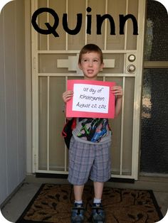 First day kindergartner! #FABsmile