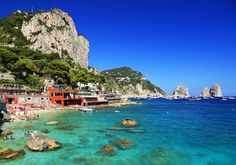 Experience the best of the Amalfi Coast and Tuscany plus Rome in this 11-day-10-night Italian holiday! This is the Marina Piccola in the island of Capri which is included in the itinerary. Are you ready for this?