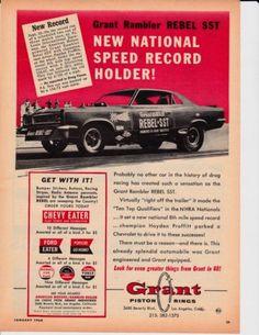 The rambler rebel funny car blog mcg social myclassicgarage 1967 grant rambler rebel sst nice original muscle sciox Image collections