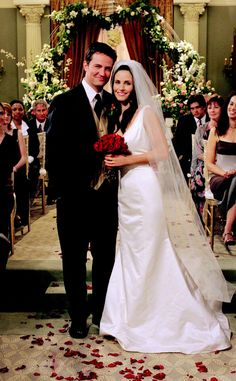 Today marks a very big day for one of our favorite on-screen couples...Monica and Chandler got married